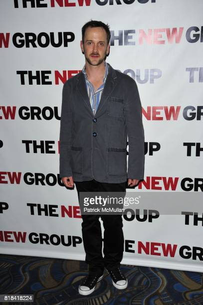 Jeff Whitty attends The New Group 2010 Gala Benefit honors ROBYN GOODMAN at BB King Blues Club Grill on January 25 2010 in New York City