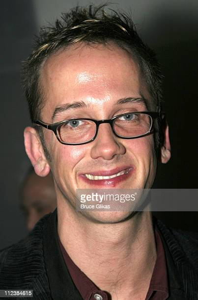 Jeff Whitty during Modern Orthodox Opening Night Celebration at Dodger Stages Theater in New York New York United States