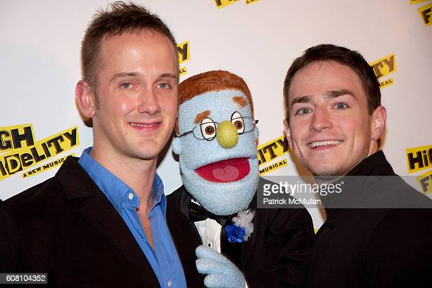 Jeff Whitty Rod and Jonathon Root attend Opening Night On Broadway High Fidelity A New Musical at Imperial Theatre 249 West 45 Street on December 7...
