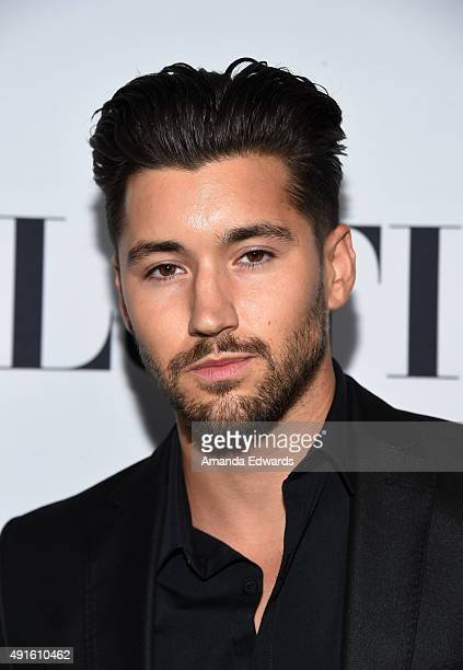 Jeff Wittek arrives at the Latina Hot List Party hosted by Latina Media Ventures at The London West Hollywood on October 6 2015 in West Hollywood...