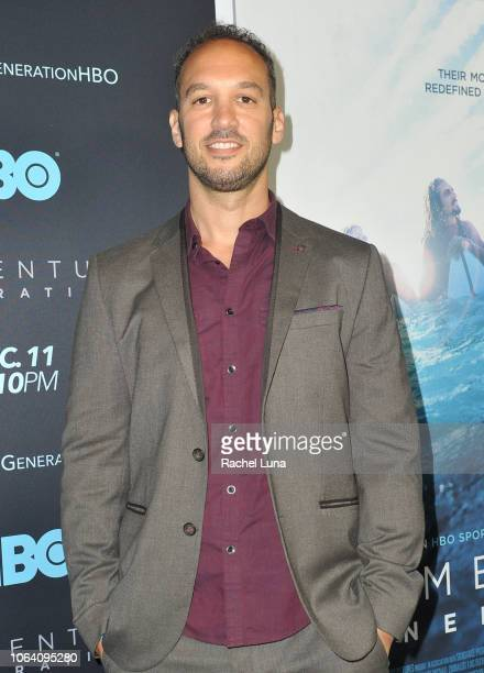 Jeff Zimbalist attends HBO's Momentum Generation Premiere at The Broad Stage on November 05 2018 in Santa Monica California