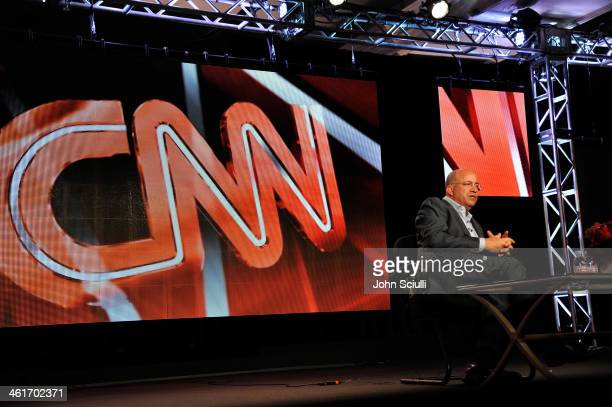 Jeff Zucker President CNN Worldwide speaks onstage at the 2014 TCA Winter Press Tour Turner Broadcasting Presentation on January 10 2014 in Pasadena...