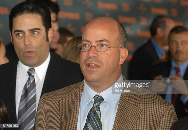 Jeff Zucker president of NBC Universal attends the world premiere of The Express at the Landmark Theater on September 12 2008 in Syracuse New York