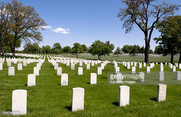 Jefferson Barracks National Cemetery In St Louis Missouri