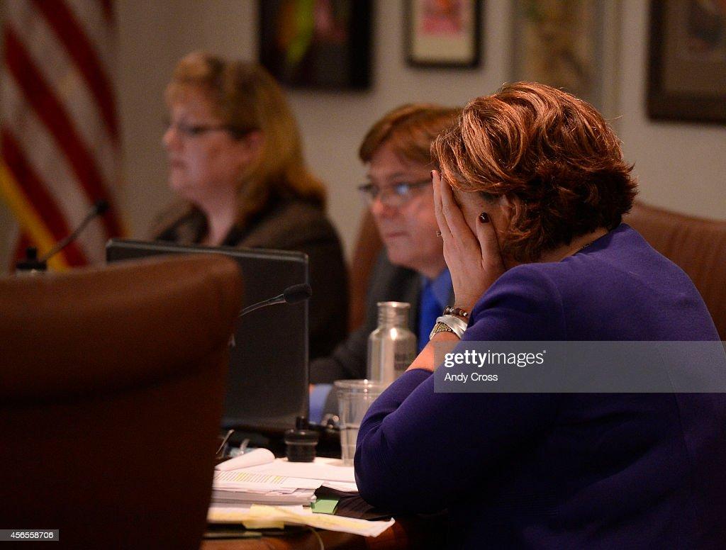 Jefferson County School Board Meeting regarding : News Photo