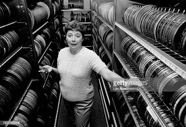 Jefferson County, Colorado - Schools & School System; Betty Michael is lead clerk in dist film library;