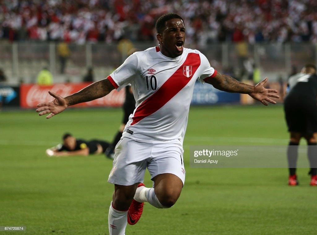 Peru v New Zealand - 2018 FIFA World Cup Qualifier Playoff : News Photo