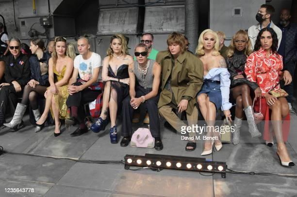 Jefferson Hack, Anna Cleveland, Georgia May Jagger, Cambryan Sedlick, Paris Jackson, Evan Mock, Jordan Barrett, Miss Fame, Symone and Raya Martigny...