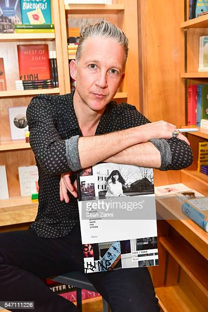 Jefferson Hack attends Bookmarc Celebrates the Release of 'We Can't Do This Alone Jefferson Hack The System' at Bookmarc on July 12 2016 in New York...