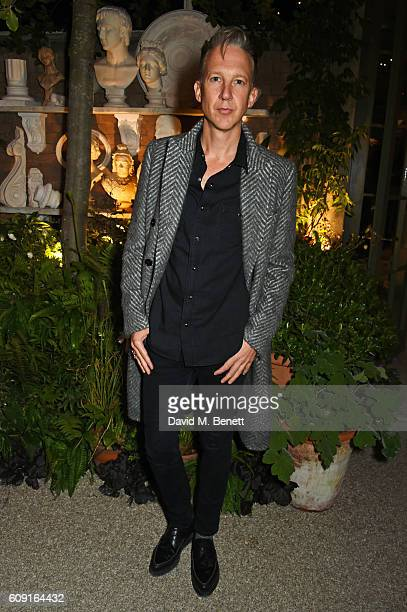 Jefferson Hack attends the launch party hosted by Christopher Bailey and Jefferson Hack to celebrate the Burberry and Dazed cover featuring Jean...