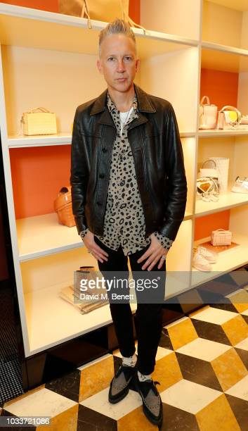 1a86e81eee Jefferson Hack attends the Tod's Sloane Apartment Boutique cocktail party  on September 15 2018 in London