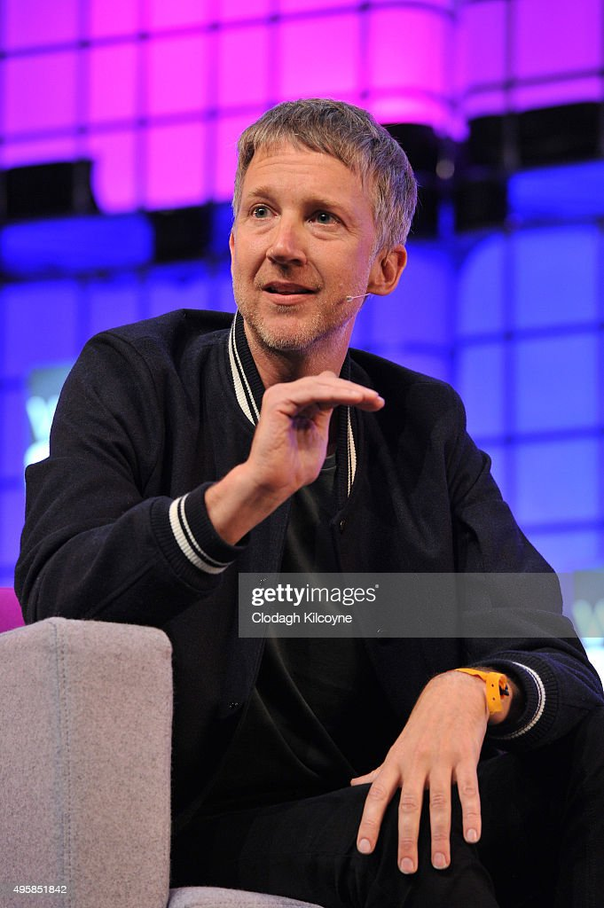 Jefferson Hack, Co-Founder and publisher of Dazed & Confused speaks on stage about what role can technology play in themagazine world during the third day of the 2015 Web Summit on November 5, 2015 in Dublin, Ireland. The Web Summit is now in it's 4th year and is technology's most global gathering. In numbers, it has 42,000 attendees from 134 countries, 1,000 speakers, 2,100 startups and 1,200 media.