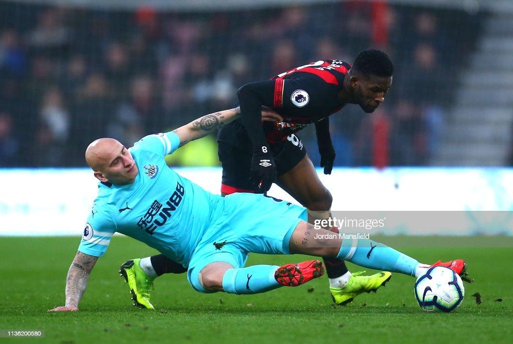 GBR: AFC Bournemouth v Newcastle United - Premier League