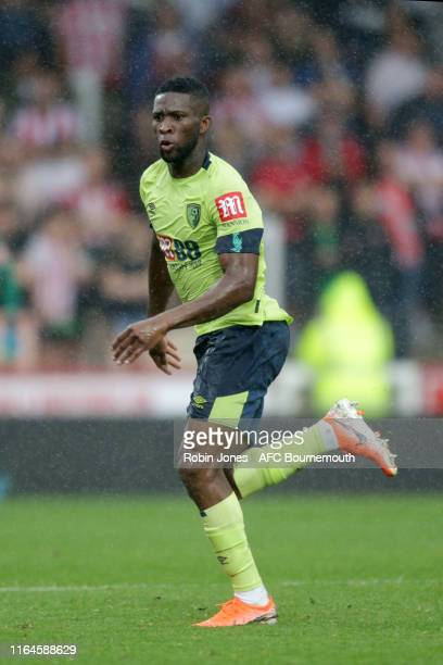 Jefferson Lerma of Bournemouth during the Pre-Season Friendly match between Brentford and AFC Bournemouth at Griffin Park on July 27, 2019 in...