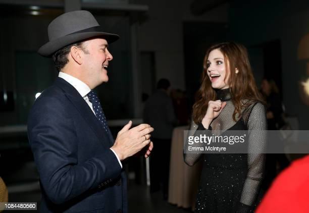 Jefferson Mays and India Eisley attend the 'I Am the Night' screening at LACMA on January 17 2019 in Los Angeles California 484150