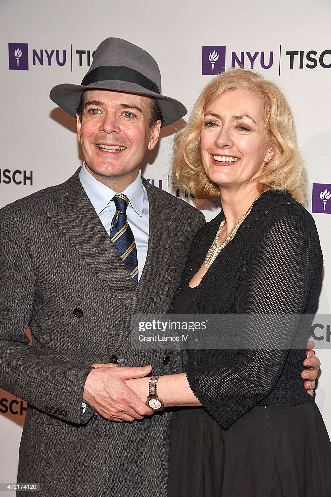 Jefferson Mays and Susan Lyons attend the NYU Tisch School Of The Arts 2015 Gal at Frederick P. Rose Hall, Jazz at Lincoln Center on May 4, 2015 in New York City.
