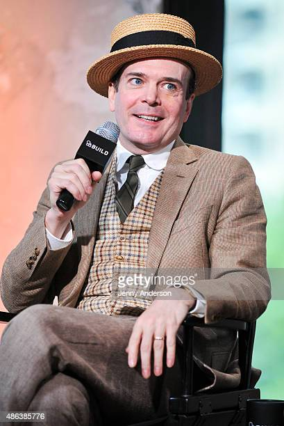 Jefferson Mays star of A Gentleman's Guide To Love And Murder attends AOL BUILD Speaker Series at AOL Studios In New York on September 3 2015 in New...
