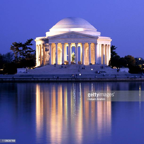 Jefferson Memorial at Dusk - Washington DC, USA