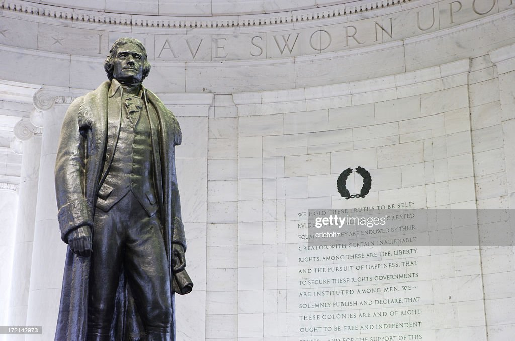 Memorial de Jefferson : Foto de stock