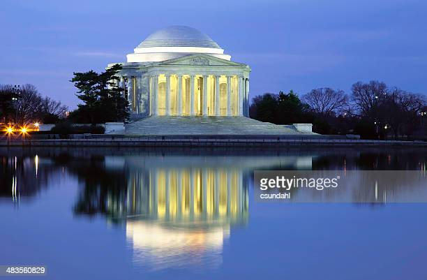 jefferson memorial - national landmark stock pictures, royalty-free photos & images