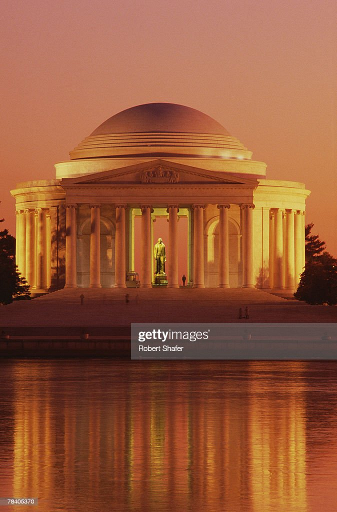 Jefferson Memorial, Washington, D.C. : Stockfoto