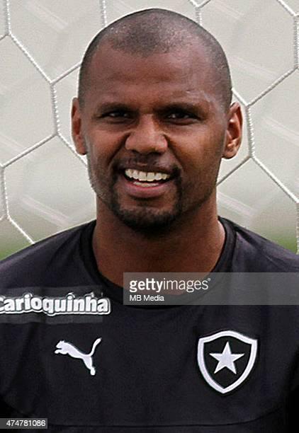 Jefferson of Botafogo de Futebol e Regatas poses during a portrait session on August 14 2014 in Rio de JaneiroBrazil