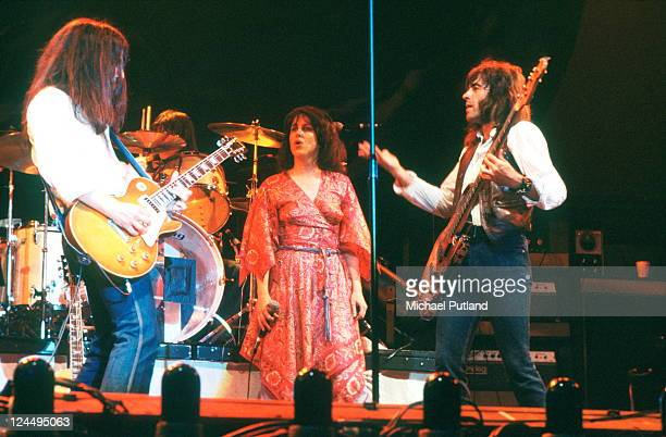 Jefferson Starship perform on stage New York September 1978 Craig Chaquico Grace Slick David Freiberg