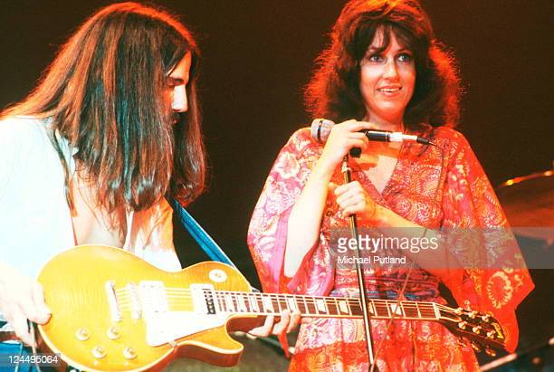 Jefferson Starship perform on stage New York September 1978 Craig Chaquico Grace Slick
