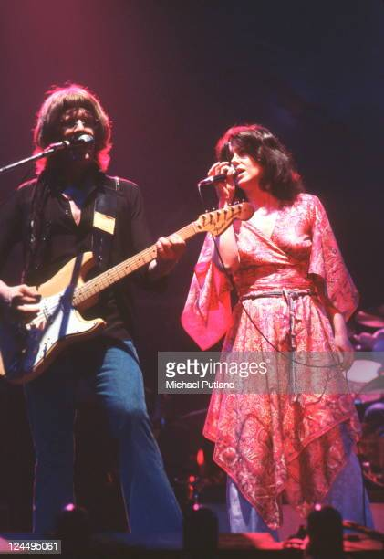 Jefferson Starship perform on stage New York September 1978 Paul Kantner Grace Slick