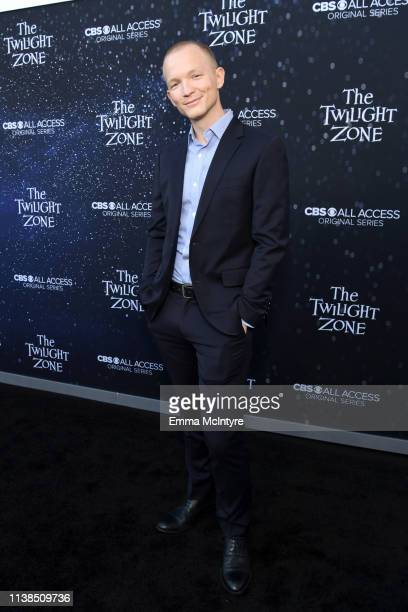 Jefferson White attends CBS All Access new series The Twilight Zone premiere at the Harmony Gold Preview House and Theater on March 26 2019 in...