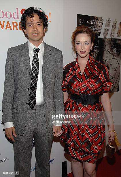 Jeffery Aaron and Actress Christina Hendricks arrive at Hollywood Life's 5th annual Hollywood Style Awards presented by Nikon held at the Pacific...