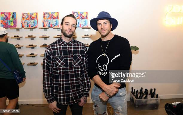 Jeffery and Gregory Siff attend Brittney Palmer's 'No Agency' Art Show Shop At Art Basel Miami 2017 on December 9 2017 in Miami Florida
