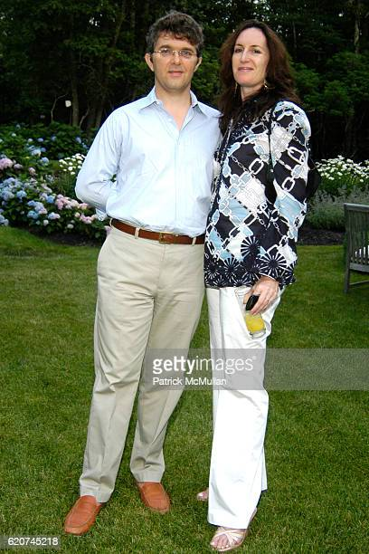 Jeffery Bradford and Norah Lawlor attend The Rush Philanthropic ART FOR LIFE Party hosted by Don and Katrina Peebles at The Home of Don and Katrina...
