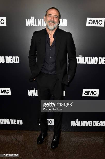Jeffery Dean Morgan attends the Premiere of AMC's The Walking Dead Season 9 at DGA Theater on September 27 2018 in Los Angeles California