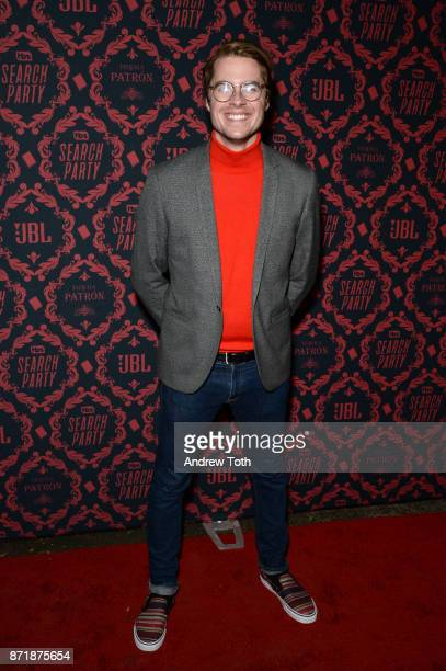 Jeffery Self attends the season 2 premiere of 'Search Party' at Public Arts at Public on November 8 2017 in New York City