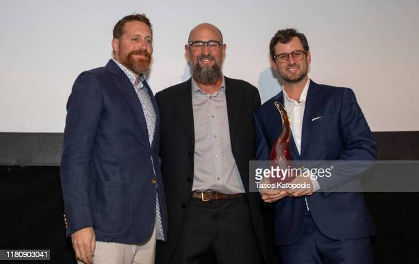 Jeffery T Larson wins Best Minnesota at the Catalyst Content Awards Gala on October 13 2019 in Duluth Minnesota