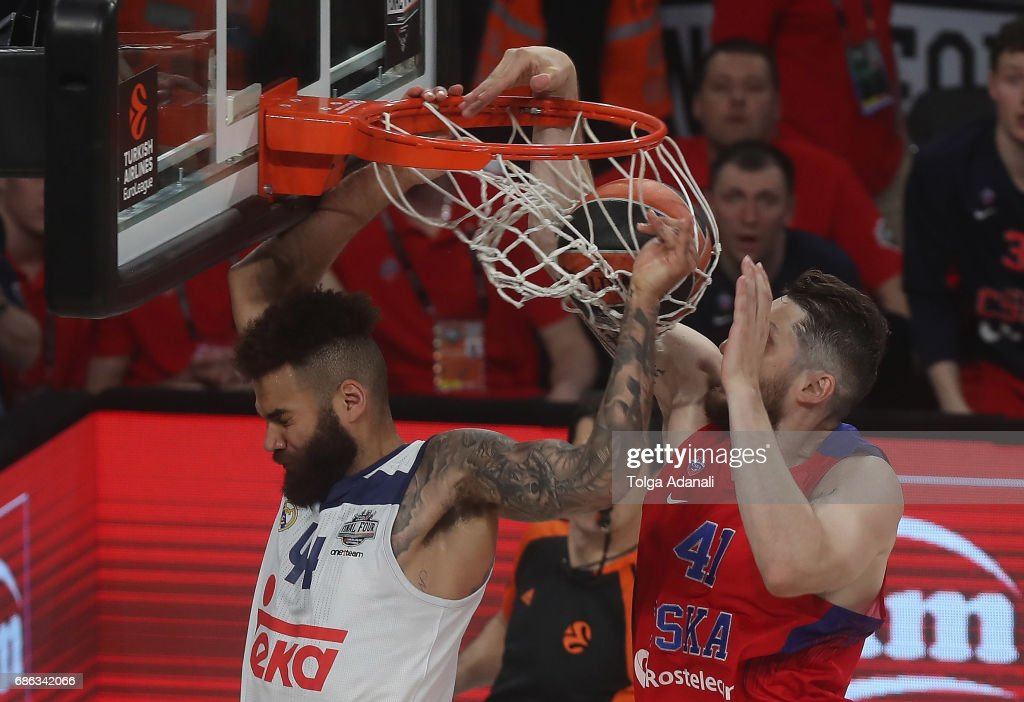 CSKA Moscow v Real Madrid - Third Place Game 2017 Turkish Airlines EuroLeague Final Four