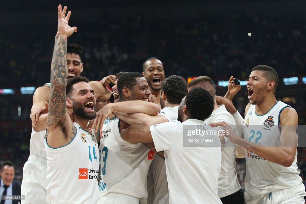 Championship Game: Real Madrid v Fenerbahce Dogus Istanbul - 2018 Turkish Airlines EuroLeague F4