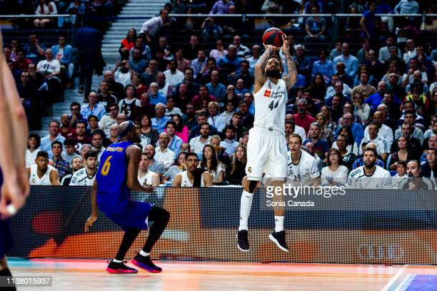 Jeffery Taylor during the Liga Endesa match between Real Madrid and FC Barcelona Lassa at Wizink Center on March 24 2019 in Madrid Spain