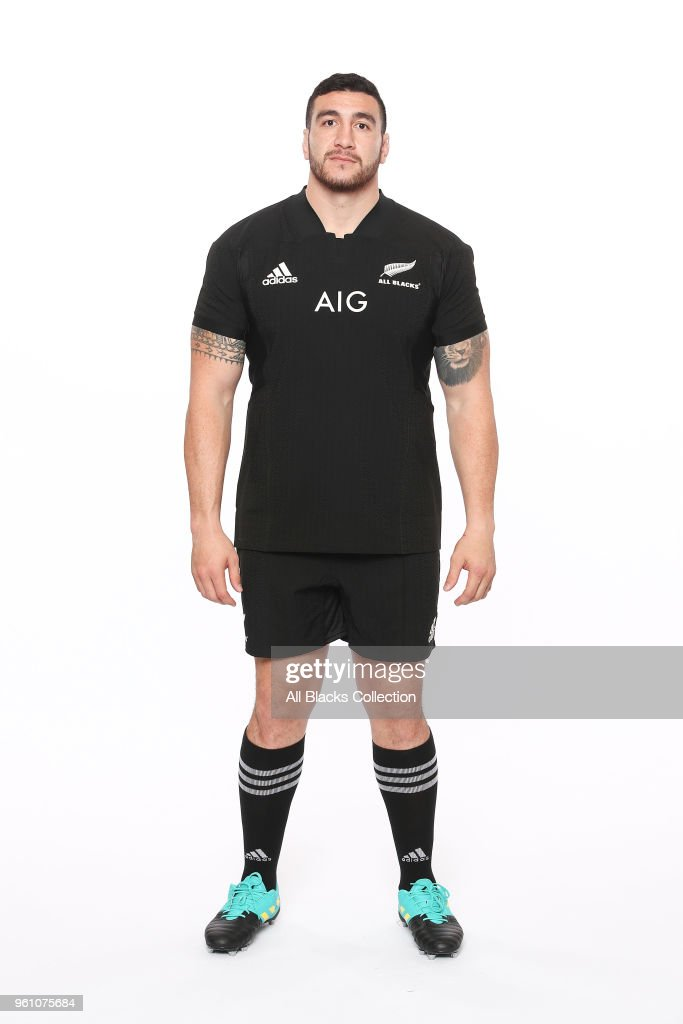 2018 New Zealand All Blacks Headshots Session