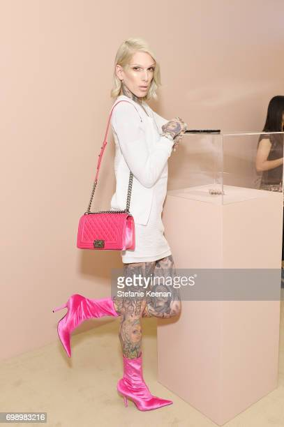 Jeffree Star celebrates The Launch Of KKW Beauty on June 20 2017 in Los Angeles California