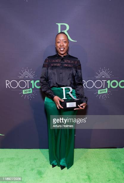 Jeffreen Hayes attends 2019 ROOT 100 Gala at The Angel Orensanz Foundation on November 21 2019 in New York City
