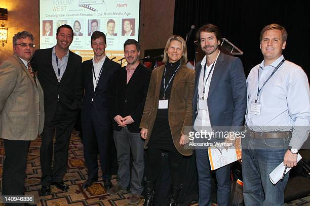 Jeffrey Andrick Jay Cohen Marc Schipper Thomas Zadra Susan Jackson Bill Johnson and Andy Bohn at The 4th Annual Film Finance Forum West Presented By...