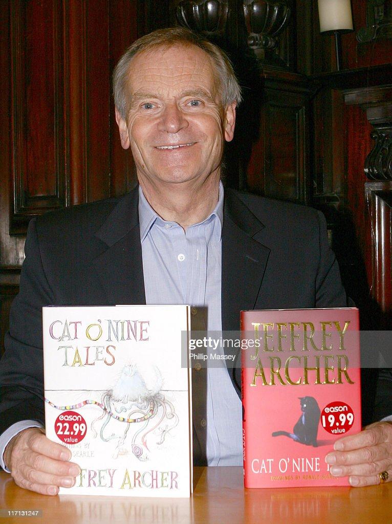 Jeffrey Archer Book Signing - November 4, 2006