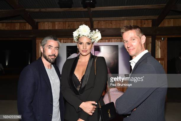 Jeffrey Berman Megan Martin and Alexander Martin attend finn2finn Alliance First Annual Fundraiser Benefiting ReRun Equine Shelter at Dune Alpin Barn...
