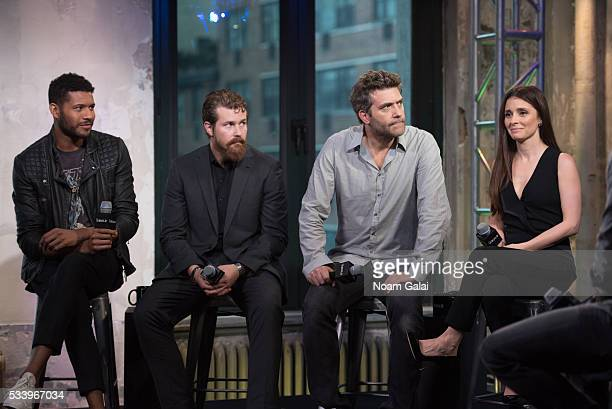 Jeffrey BowyerChapman Josh Kelly Craig Bierko and Shiri Appleby visit AOL Build to discuss 'UnREAL' at AOL Studios In New York on May 24 2016 in New...