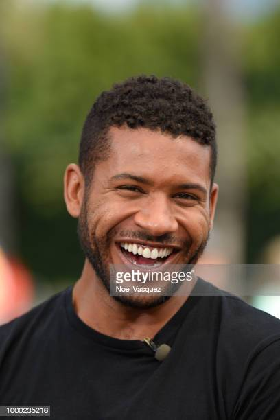 Jeffrey BowyerChapman visits 'Extra' at Universal Studios Hollywood on July 16 2018 in Universal City California