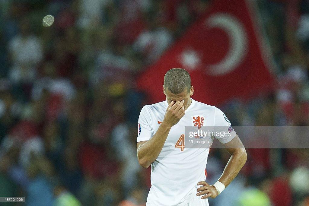"UEFA Euro 2016 qualifier - ""Turkey v Netherlands"" : News Photo"