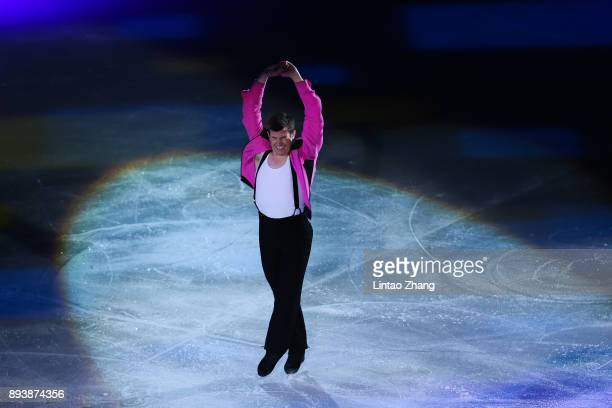 Jeffrey Buttle of Canada performs during the Stars On Ice 2017 China Tour at Beijing Capital Gymnasium on December 16 2017 in Beijing China