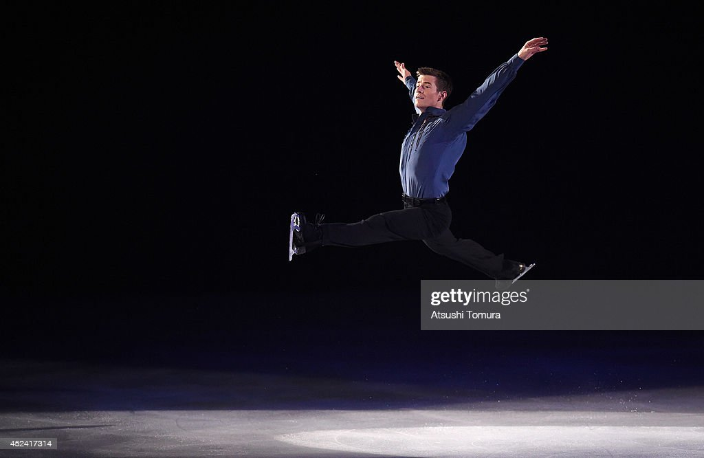 Jeffrey Buttle of Canada performs his routine during THE ICE 2014 at the White Ring on July 19, 2014 in Nagano, Japan.